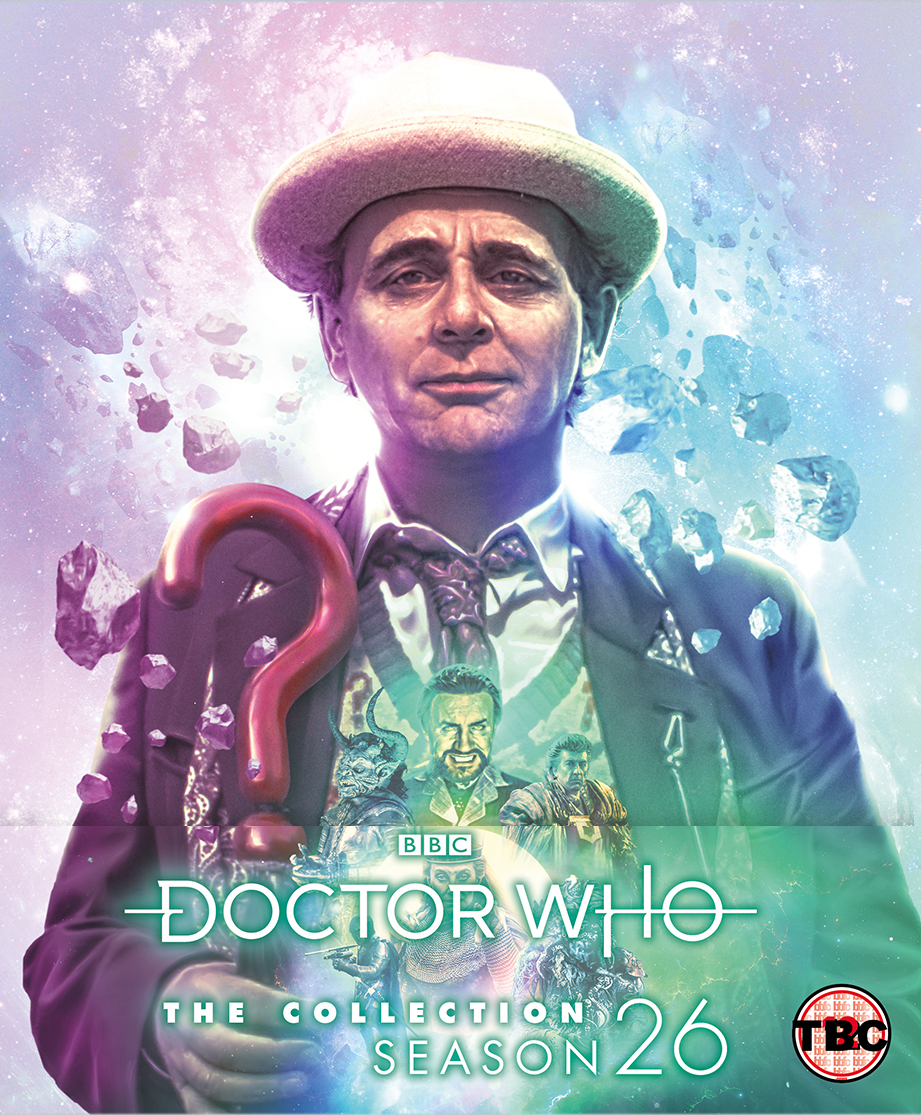 Doctor Who: The Collection - The Complete Season 26. Cover art by Lee Binding. (c) BBC Studios