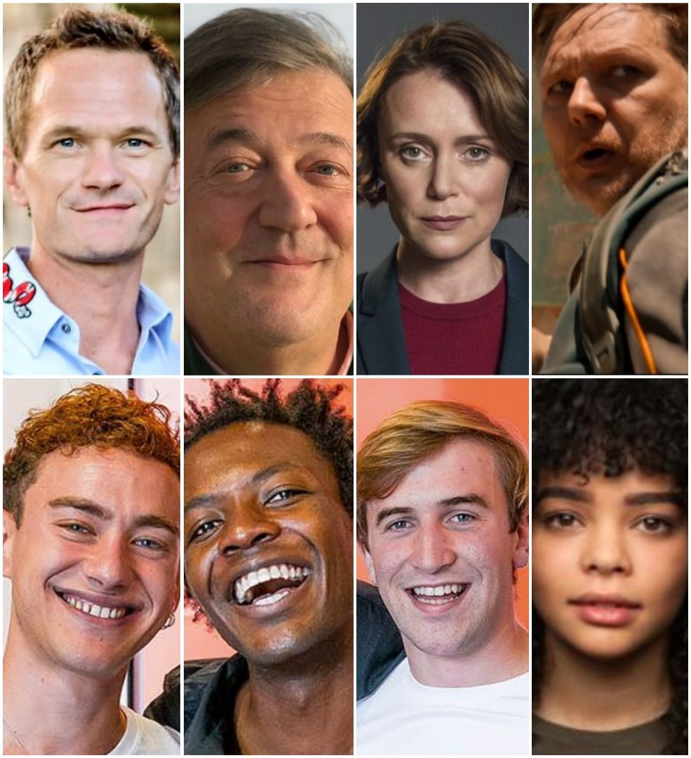 Neil Patrick Harris, Stephen Fry, Keely Hawes, Shaun Dooley, Olly Alexander, Omari Douglas, Callum Scott Howells, Lydia West are among the cast of The Boys