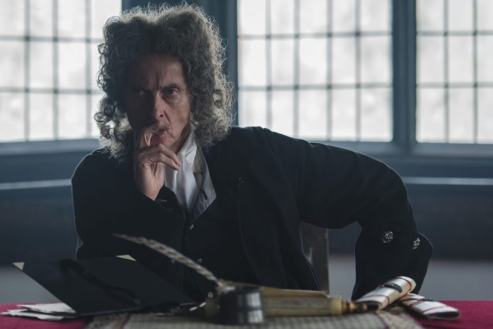 Former Doctor Who Peter Capaldi plays the prosecutor Dolben in Mark Gatiss' adaptation of M.R. James' Martin's Close - (C) Can Do Productions with Adorable Media - Photographer: Michael Carlo
