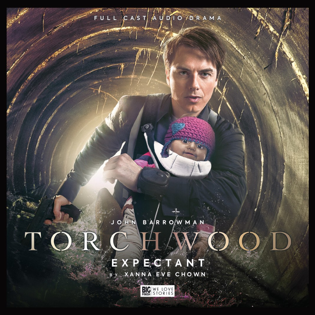 Doctor Who spin-off Torchwood: Expentant. Cover by Lee Binding. (c) Big Finish Produtions