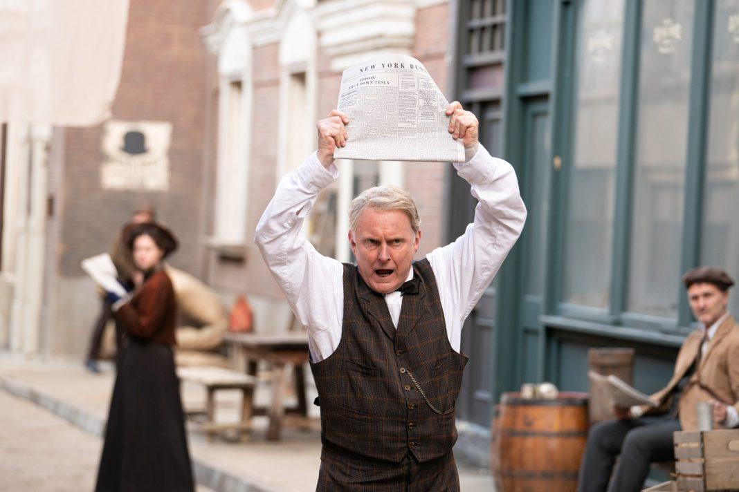 Doctor Who S12E04 - Nikola Tesla's Night of Terror - Thomas Edison (ROBERT GLENISTER) - (C) BBC - Photographer: Ben Blackal