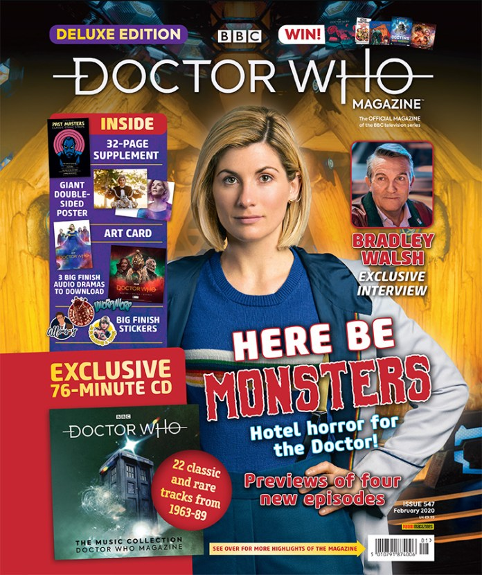 Cover to the Doctor Who Magazine 547 Deluxe Edition (c) Panini