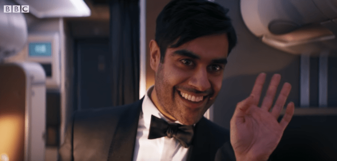 Doctor Who S12E1 - Spyfall P1 - Sacha Dhawan as The Master - (c) BBC Studios