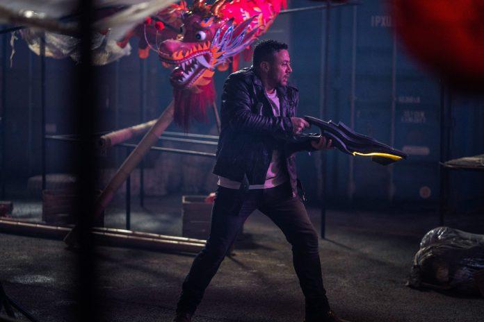 Doctor Who - S12, E06 - Praxeus - Warren Brown as Jake Willis - Photo Credit: James Pardon/BBC Studios/BBC America