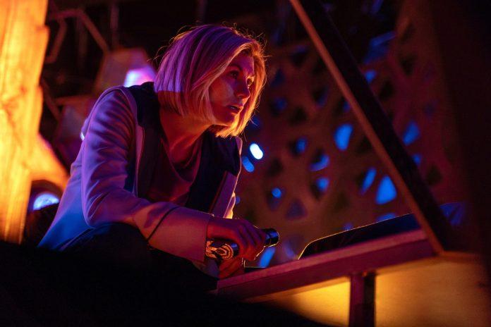 Doctor Who - S12, E06 - Praxeus - Jodie Whittaker as The Doctor - Photo Credit: James Pardon/BBC Studios/BBC America