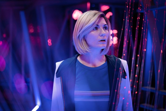 Doctor Who - Can you hear me? S12E07: The Doctor (JODIE WHITTAKER) - Photo Credit: Ben Blackall/BBC Studios/BBC America