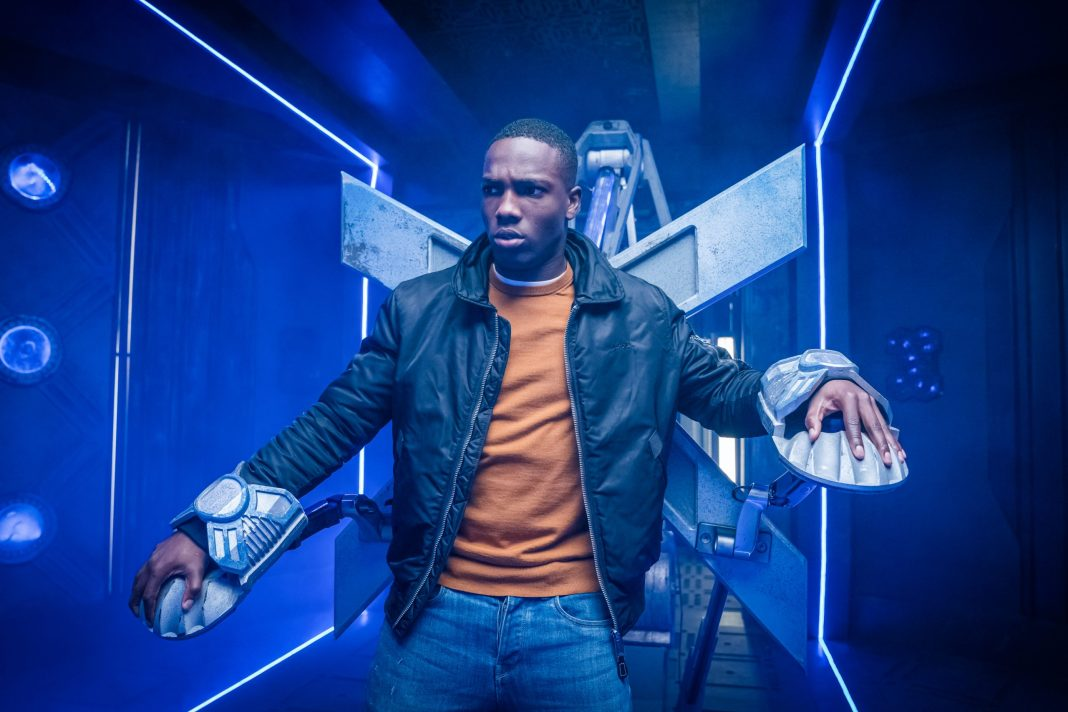 Doctor Who S12E09- Ascension of the Cybermen -Tosin Cole as Ryan - Photo Credit: Ben Blackall/BBC Studios/BBC America