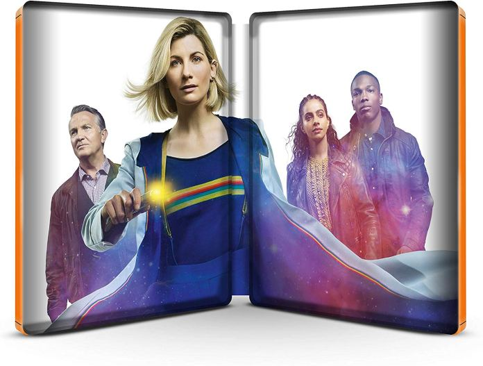 Interior image of the Doctor Who Series 12 Steelbook (c) BBC Studios
