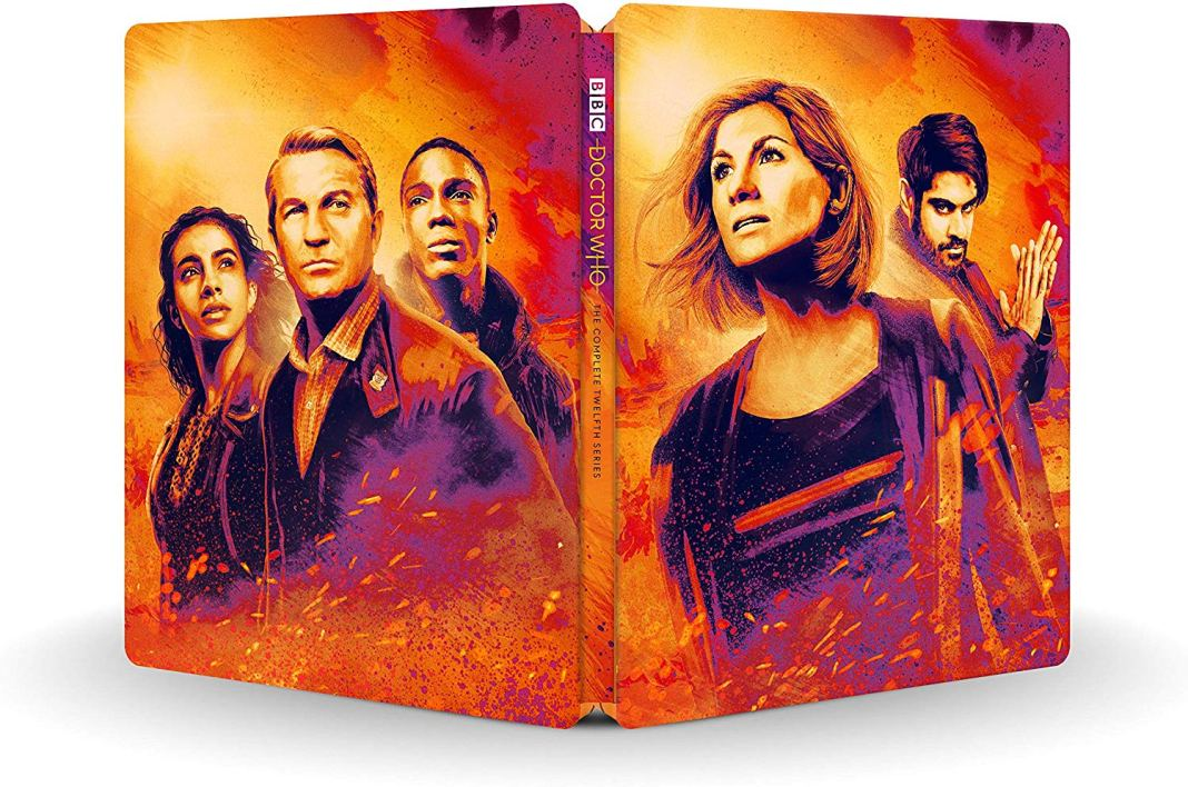 The complete cover to the Doctor Who Series 12 Steelbook (c) BBC Studios