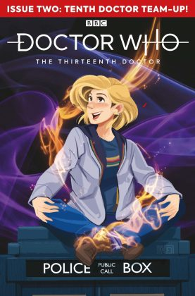 Titan Comics – Doctor Who: The Thirteenth Doctor: Season Two #2 – Cover C: Arianna Florean