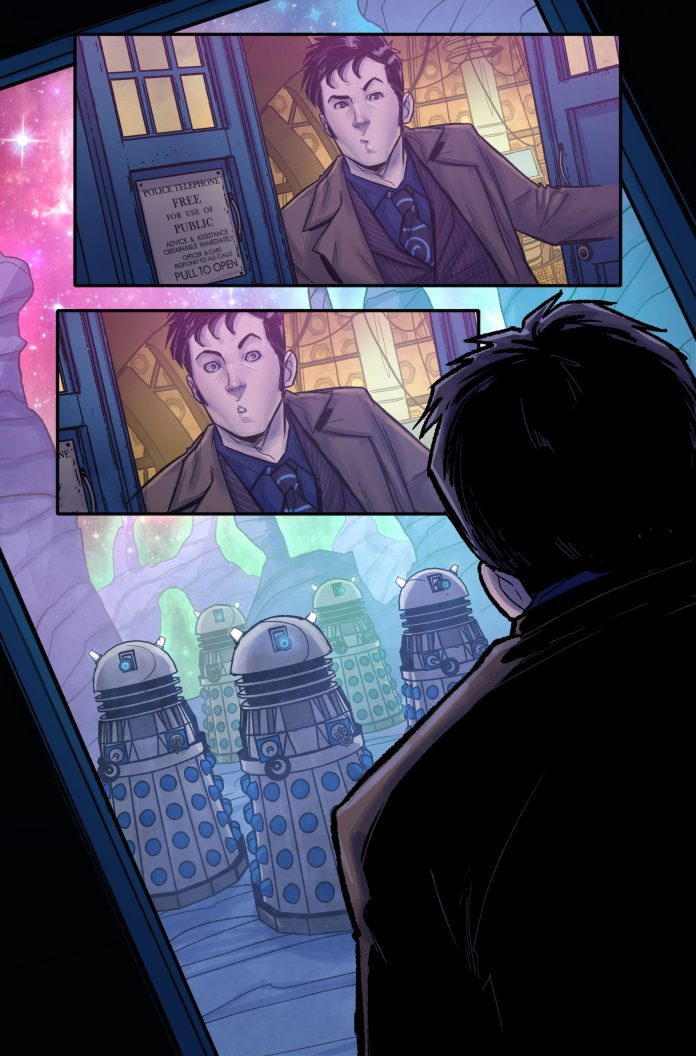Titan Comics - Doctor Who: Time Lord Victorious #1 - Interior A