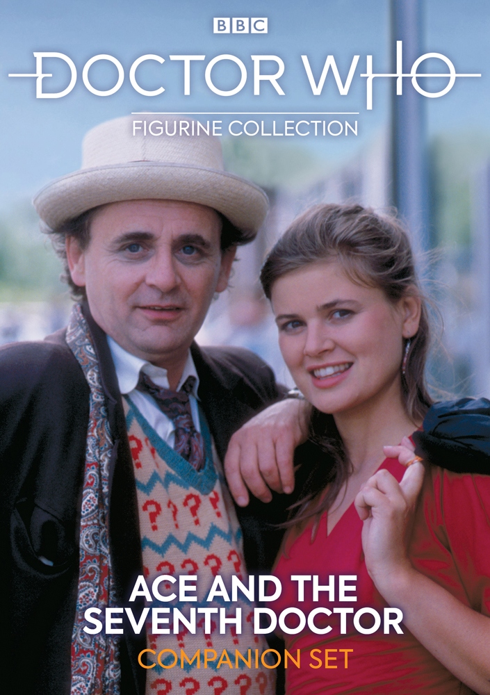 Hero Collector - Doctor Who Figurine Collection - Seventh Doctor and Ace Magazine (Cover)
