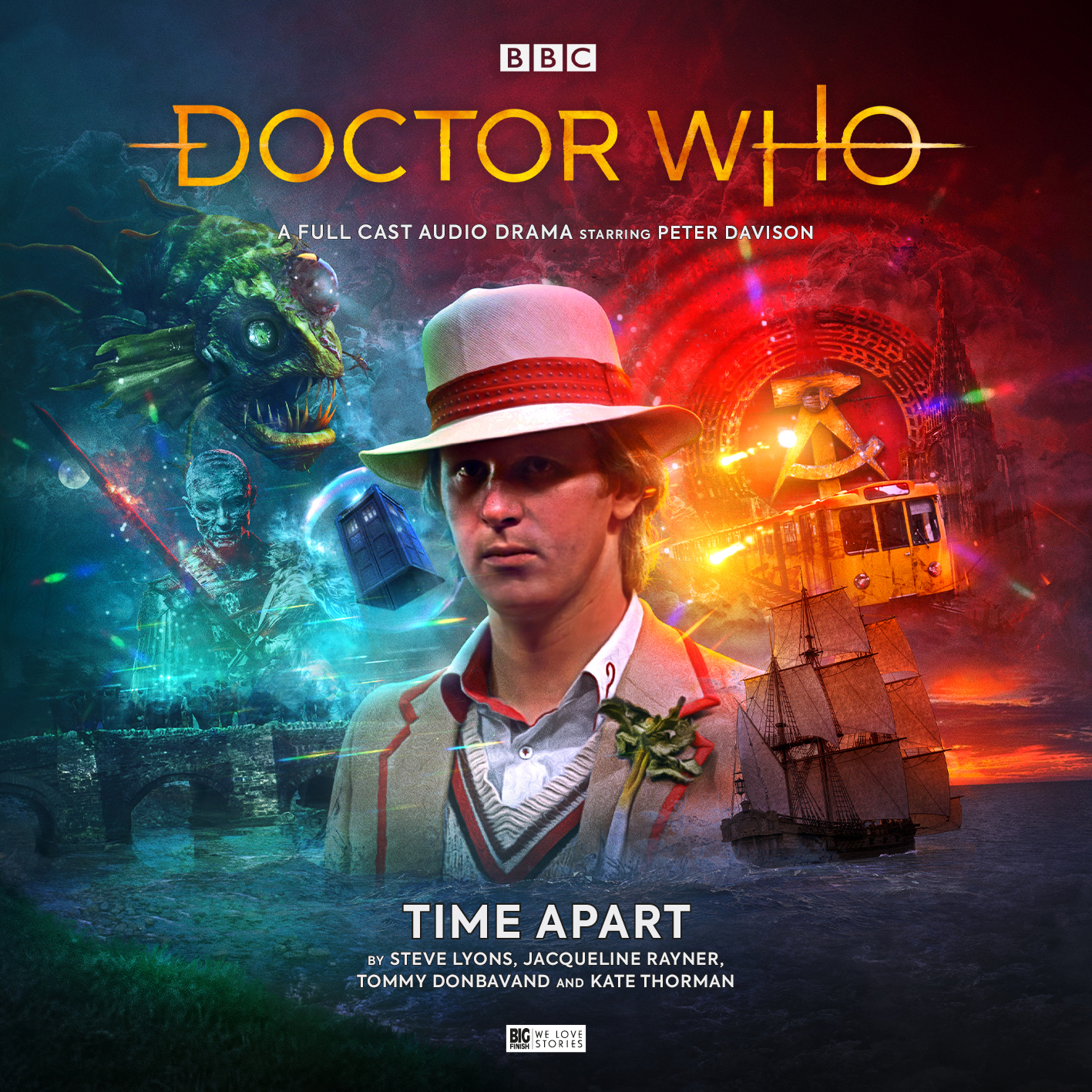 Big Finish - Doctor Who: Time Apart - Cover (Clean)
