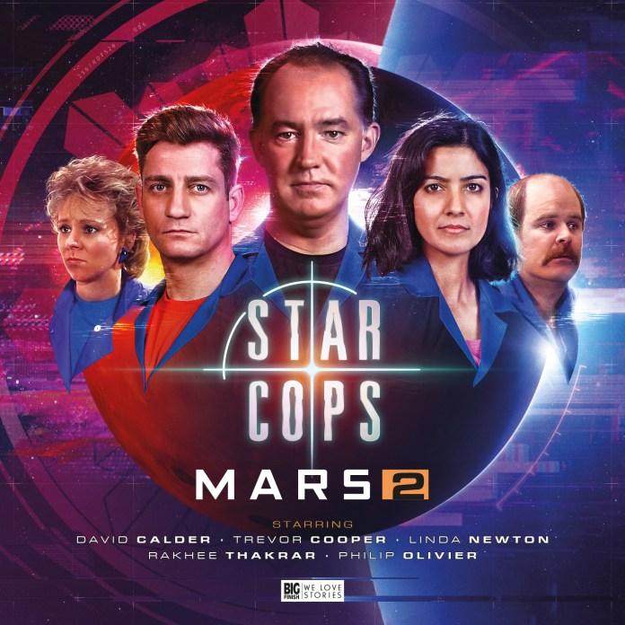 Big Finish - Star Cops: Mars 2 (Cover)