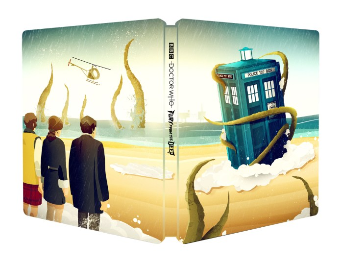Doctor Who: Fury from the Deep Steelbook cover (c) BBC Studios