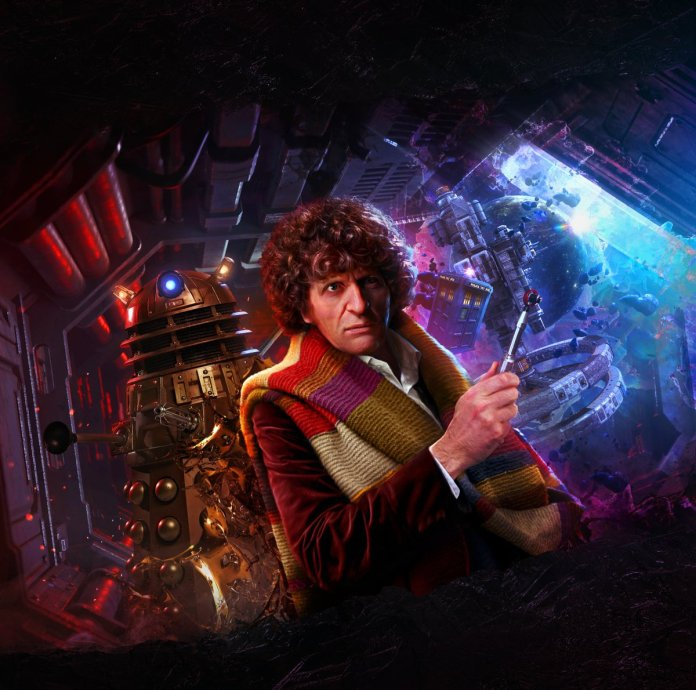 Genetics of the Daleks, Art by Tom Webster (c) Big Finish Productions Doctor Who Fourth Doctor Tom Baker Time Lord Victorious Dalek