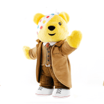 The new Pudsey Tenth Doctor teddy bear in aid of Children in Need (c) BBC Children in Need Doctor Who