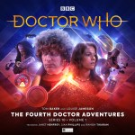 The Fourth Doctor Adventures Series 10 Volume 1. Cover by Ryan Aplin Doctor Who Tom Baker Leela Louise Jameson (c) Big Finish Productions