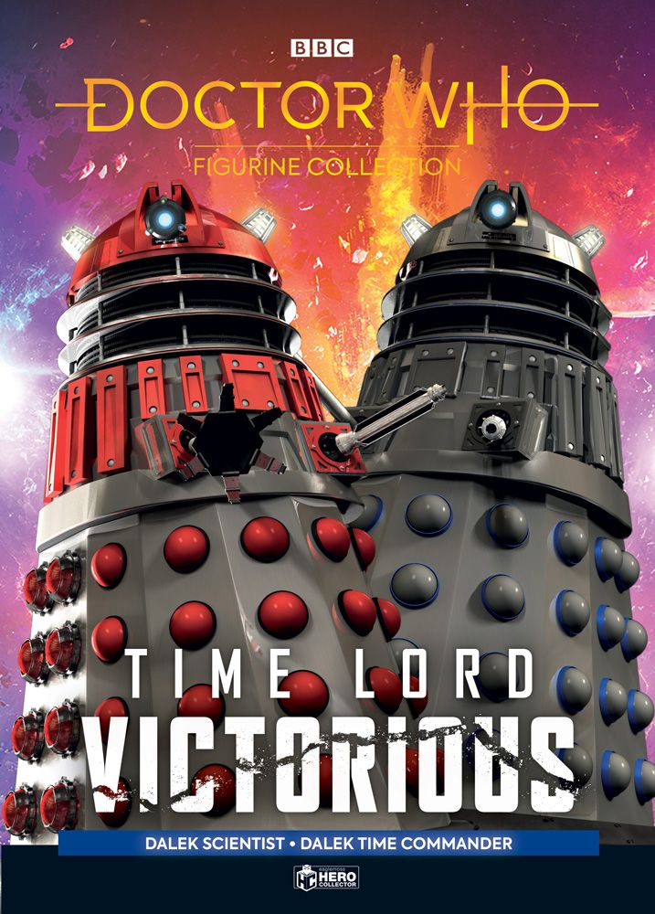 Doctor Who: Time Lord Victorious Figurine Collection #2 (c) Hero Collector Dalek Time Commander Dalek Scientist Eaglemoss