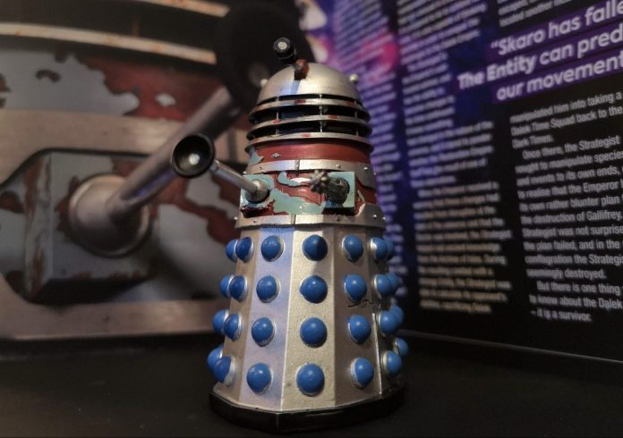The Dalek Strategist figurine from Hero Collector c) Blogtor Who Doctor Who Time Lord Victorious DALEKS! Eaglemoss