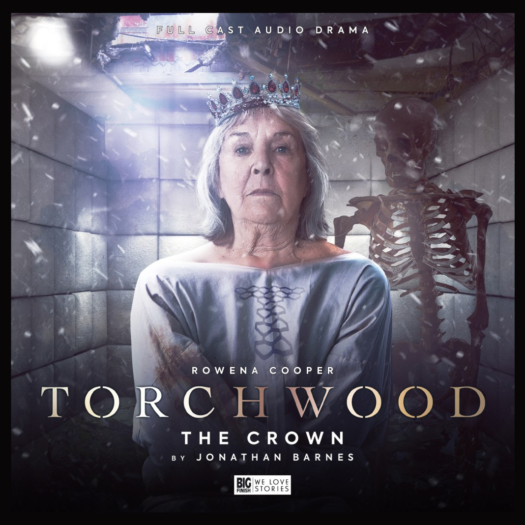 Torchwood: The Crown. Cover by Lee Binding (c) Big Finish Productions Doctor Who Queen Victoria Rowena Cooper