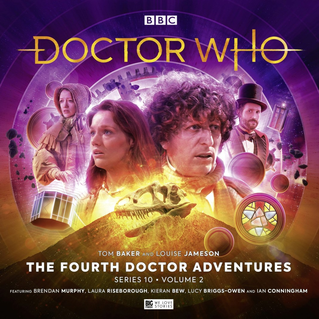 Doctor Who: The Fourth Doctor Adventures Series 10 Volume 2 (c) Big Finish Productions Tim Baker Louise Jameson Leela