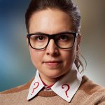 Ingrid Oliver as Osgood (c) BBC Studios Doctor Who UNIT