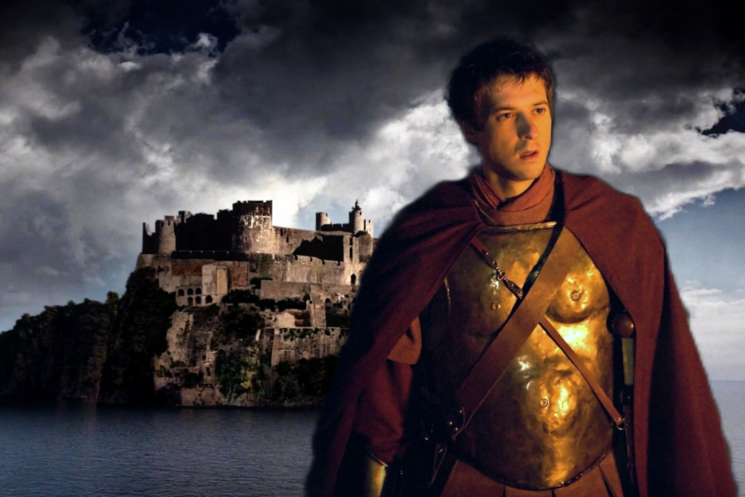 The Lone Centurion heads to Camelot in Volume 2 (c) BBC Studios Doctor Who Rory Williams Rory Pond Arthur Darvill Pandorica King Arthur