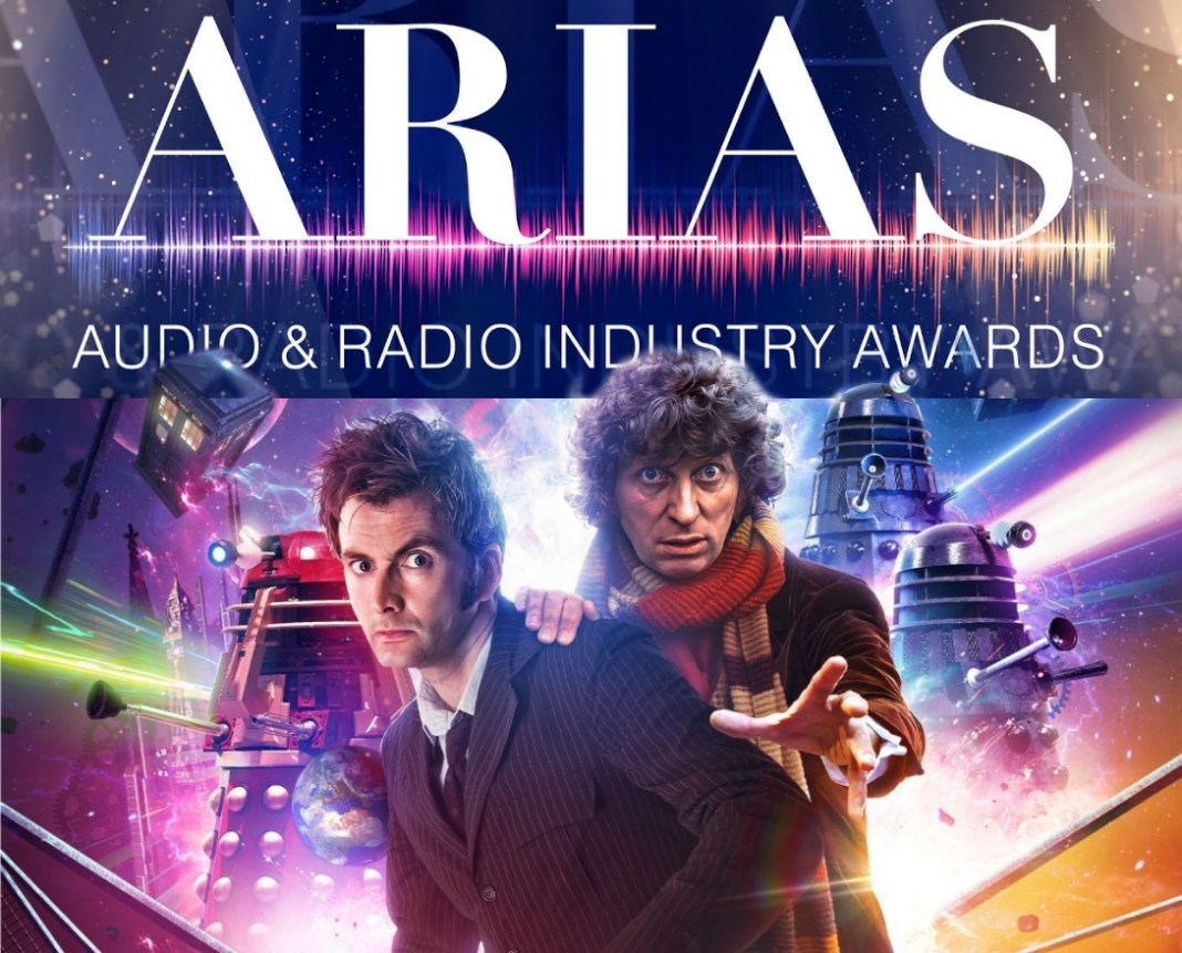 Doctor Who: Out of Time is one of two Big Finish releases nominated for ARIA Awards (c) Big Finish/Radio Academy Fourth Doctor Tenth Doctor Daleks Tom Baker David Tennant
