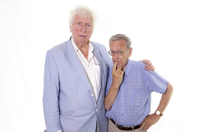 Tom Baker and John Leeson (c) Paul Midcalf Fourth Doctor K9 Doctor Who