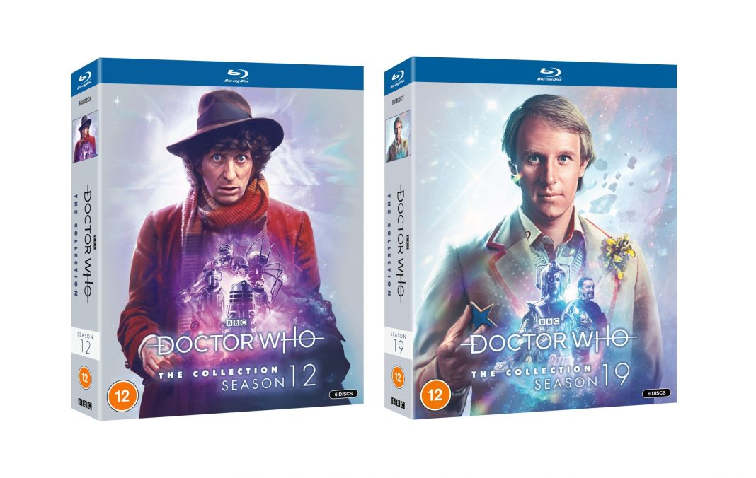 Doctor Who Season 12 and 19 Standard Editions (c) BBC Studios