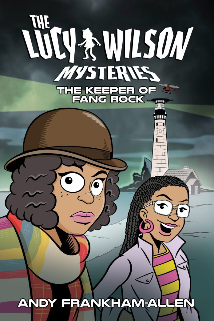 Keeper of Fang Rock. Cover by Steve Beckett (c) Candy Jar Books Doctor Who Lucy Wilson Mysteries Horror of Fang Rock