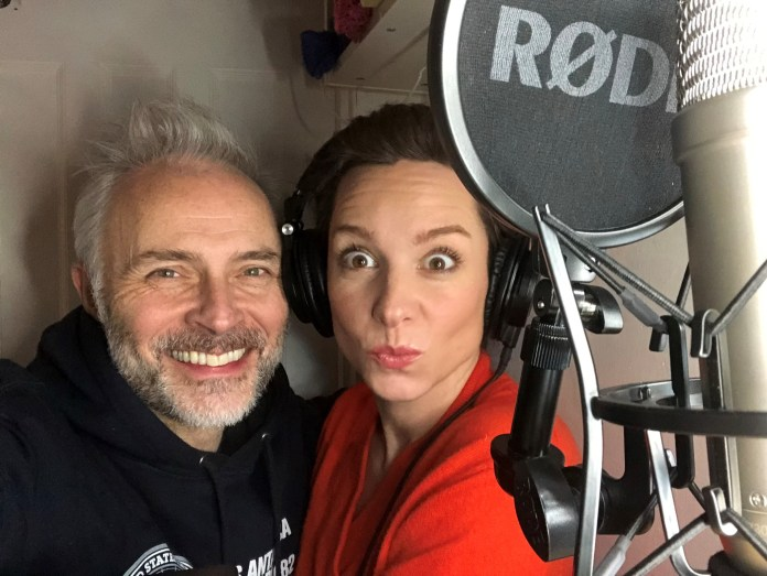 Being a husband and wife team meant Mark Bonnar and Lucy Gaskell were actually able to record together despite lockdown (c) Big Finish Doctor Who The Eleven