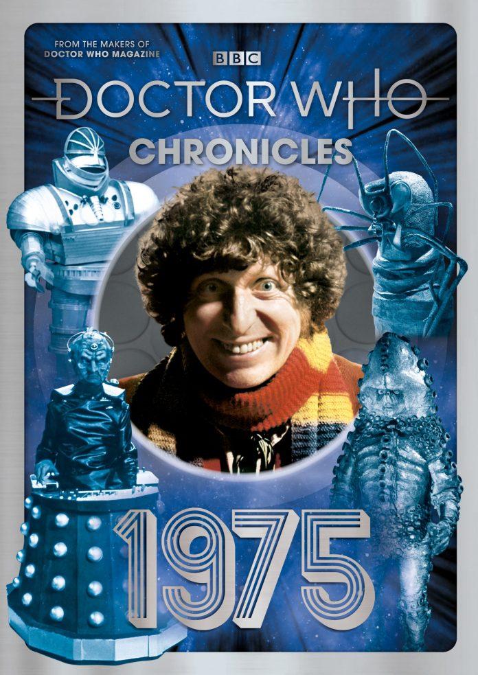 Doctor Who Chronicles: 1975 (c) Panini Doctor Who Magazine Tom Baker Fourth Doctor Robot Season 12 Season 13