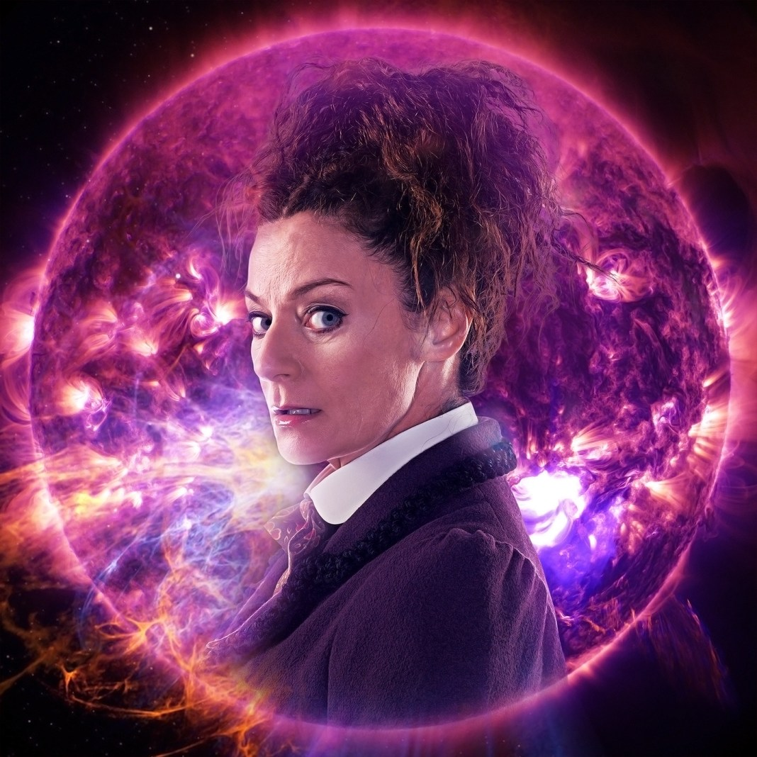 Missy returns for more adventures (c) Big Finish Productions Doctor Who Michelle Gomez Master