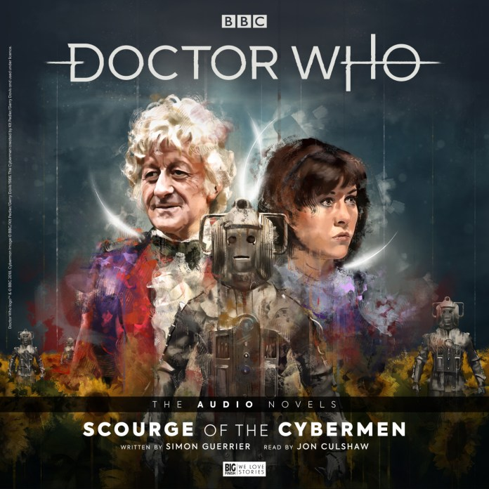 Doctor Who: Scourge of the Cybermen. Cover by Claudia Gironi (c) Big Finish Third Doctor Sarah Jane Smith