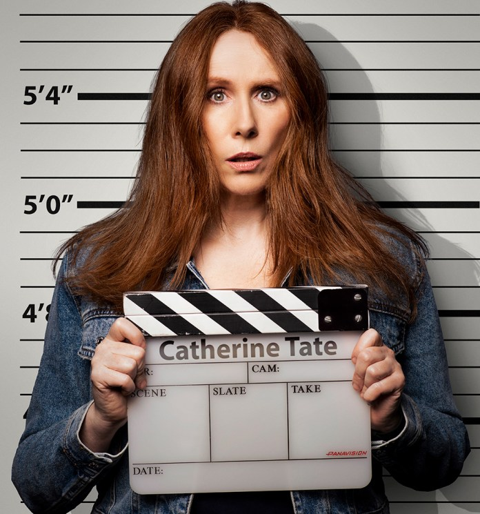 Catherine Tate stars in new Netflix show Hard Cell (c) Netflix