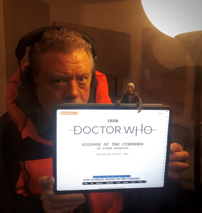 Jon Culshaw reads Doctor Who: Scourge of the Cybermen (c) Big Finish Third Doctor