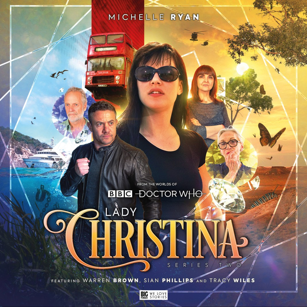 Lady Christina Series Two. Cover by Ryan Aplin. (c) Big Finish Productions Doctor Who Warren Brown Michelle Ryan Planet of the Dead