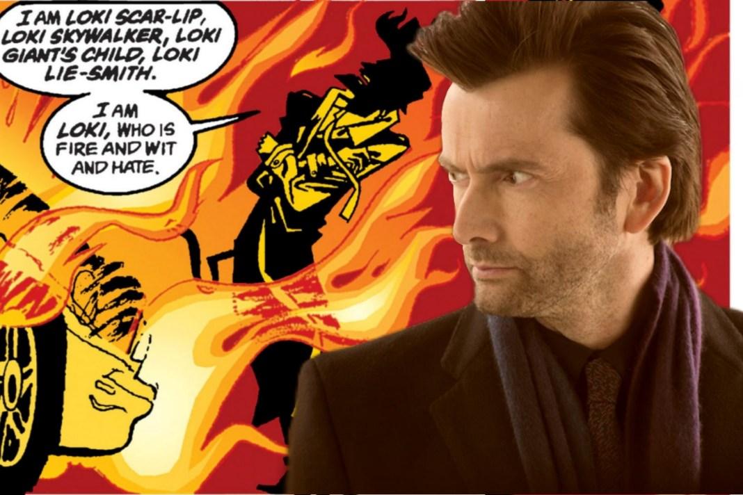 David Tennant is joining the cast of audio drama The Sandman as Loki Doctor Who Audible Tenth Doctor Neil Gaiman Season of Mists