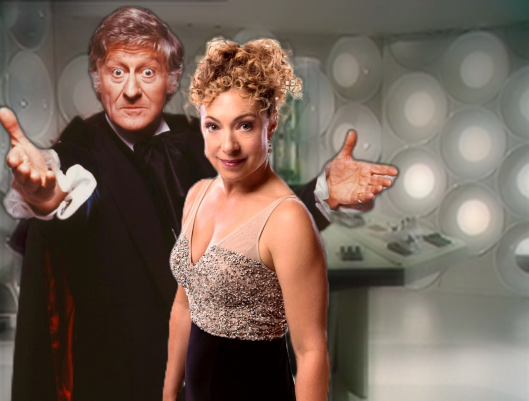 River Song meets the Third Doctor in Diary of River Song: New Recruit! Doctor Who TARDIS Big Finish Productions UNIT United Nations Intelligence Taskforce