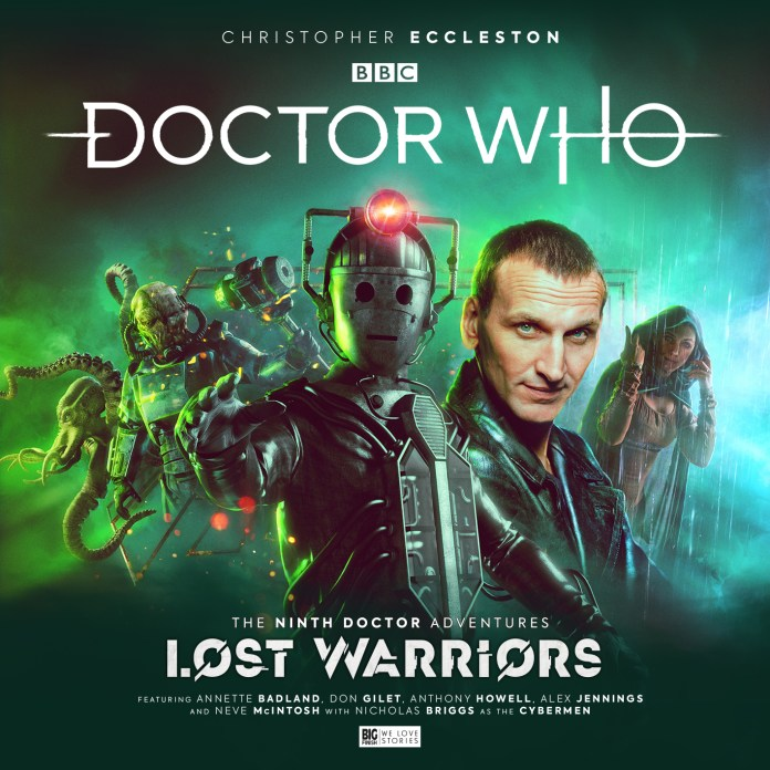 Doctor Who: The Ninth Doctor Adventures: Lost Warriors. (c) Big Finish Productions Christopher Eccleston Cybermen Metropolis