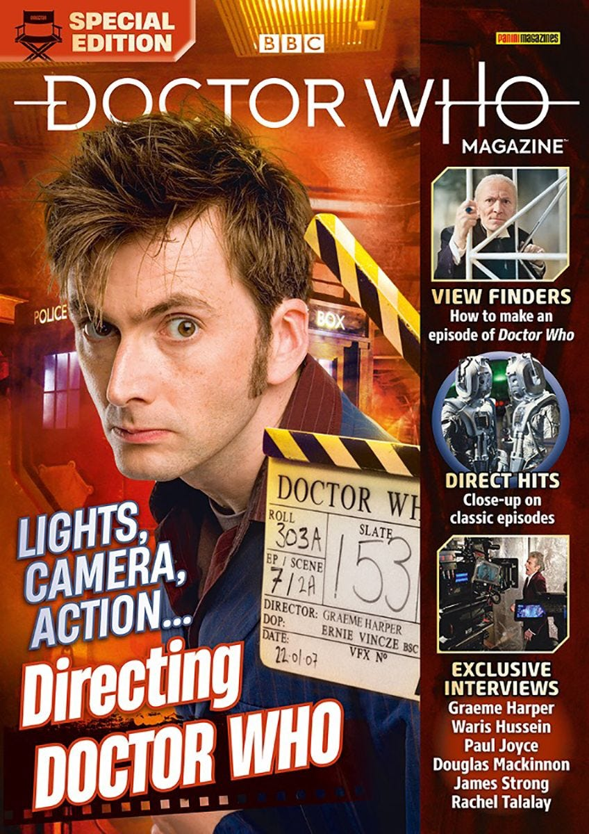 Doctor Who Magazine Special Edition: Directing Doctor Who (c) Panini