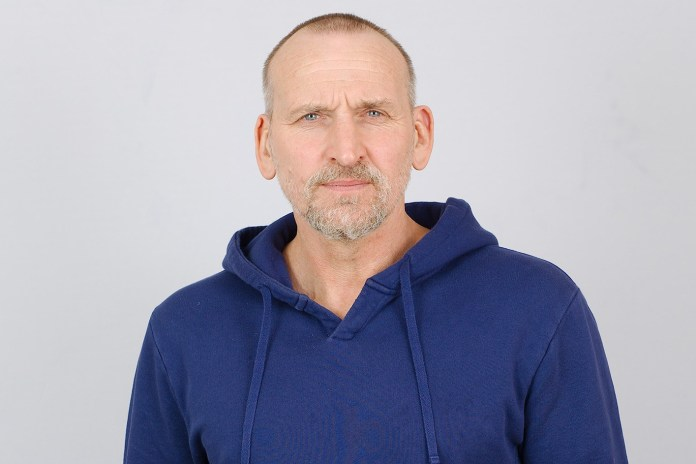 Christopher Eccleston at the recording of The Ninth Doctor Adventures Series One (c) Tony Whitmore Doctor Who Ninth Doctor Big Finish