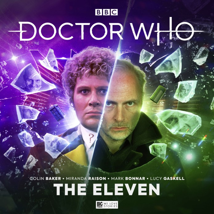 Doctor Who: The Sixth Doctor Adventures - The Eleven. Cover by Ryan Aplin (c) Big Finish Productions Colin Baker Mark Bonnar