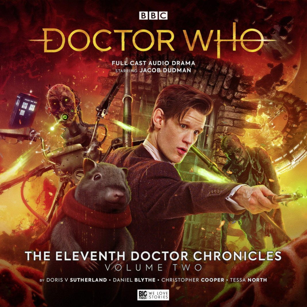 Doctor Who: The Eleventh Doctor Chronicles Volume 2. Cover by Tom Webster. (c) Big Finish Productions