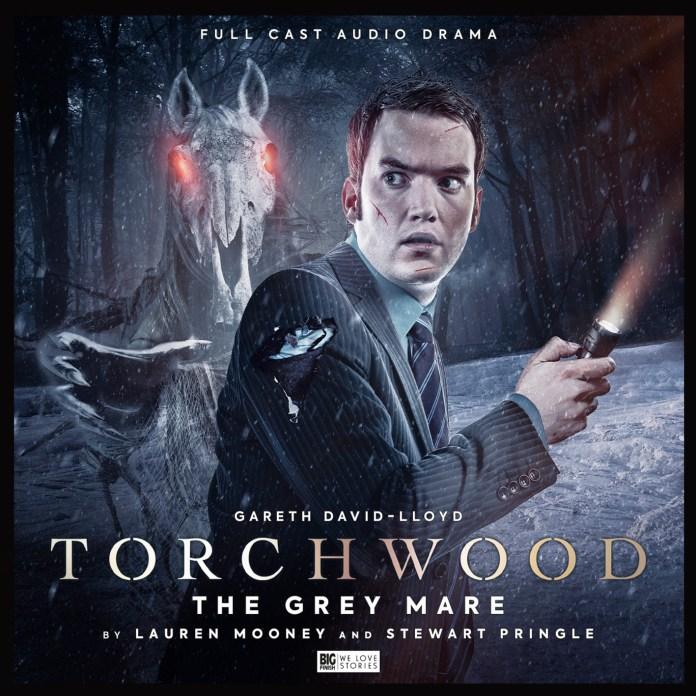 Torchwood: The Grey Mare. (c) Big Finish Productions Ianto Jones Doctor Who Gareth David-Lloyd Mari Lwyd Welsh Folk Horror