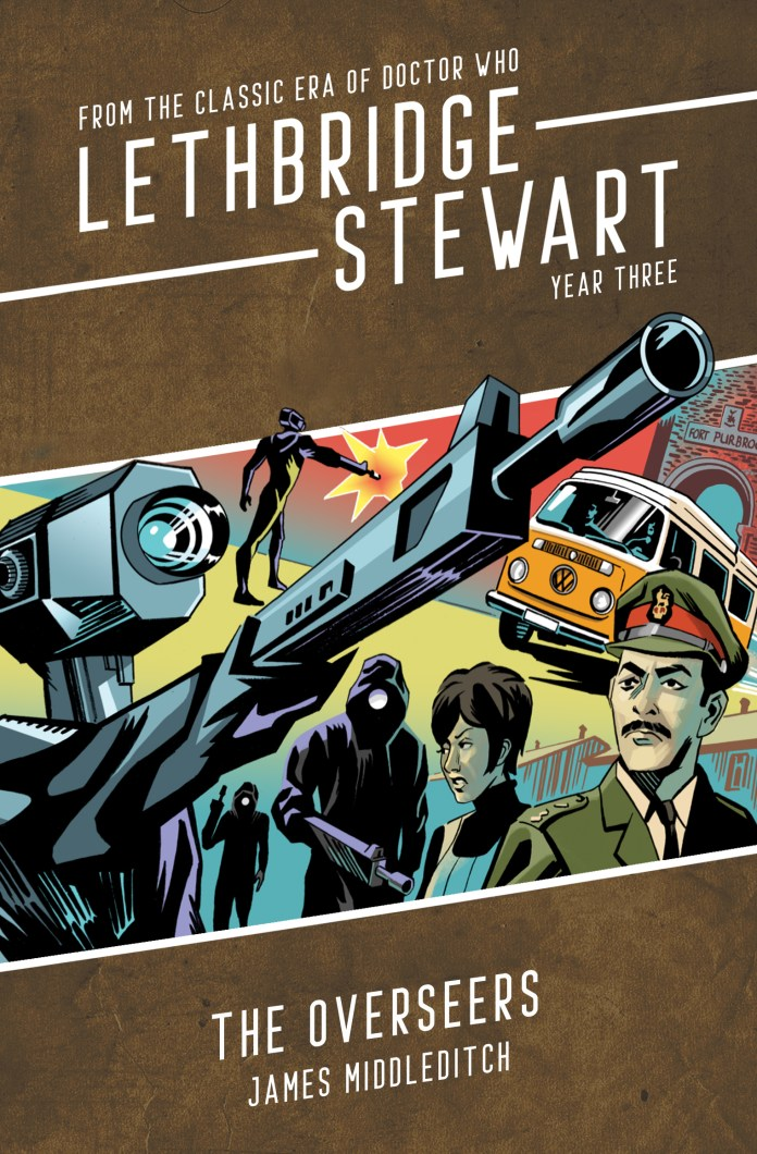 Lethbridge-Stewart: The Overseers. Cover by Adrian Salmon (c) Candy Jar Books Doctor Who Brigadier