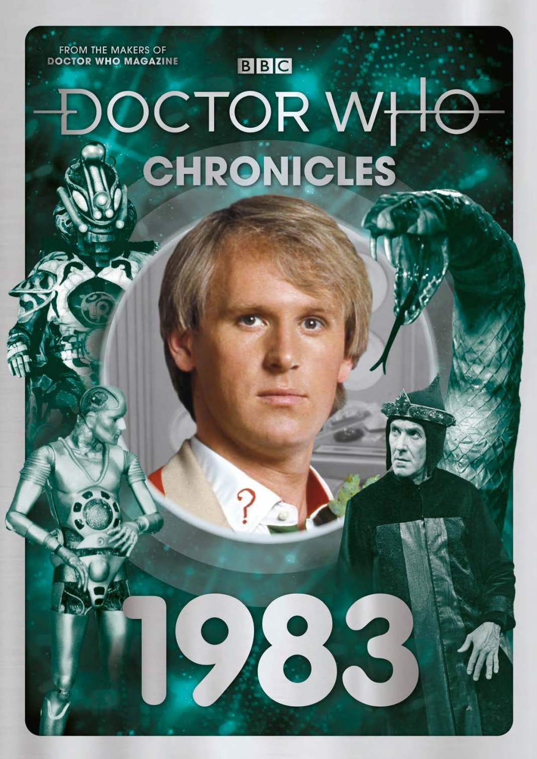 Doctor Who Chronicles: 1983 (c) Panini Doctor Who Magazine Fith Doctor Peter Davison Doctor Who Season 20