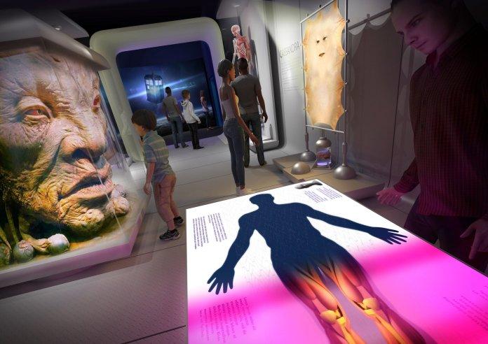 Artist's impression of Doctor Who: Worlds of Wonder (c) BBC Studios